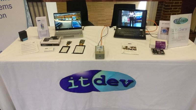 ITDev table at University careers fair