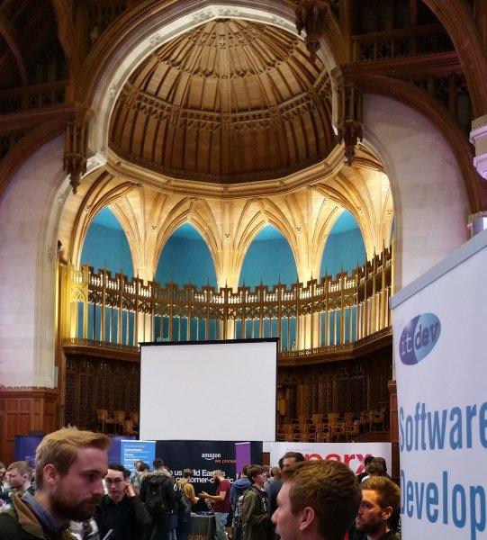 Inside the Great Hall, Wills Memorial Building.