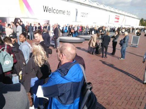 IBC 2017 Registration queue