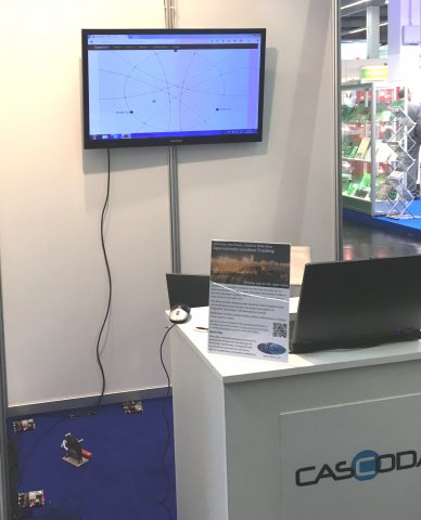 Location Demo at Embedded World