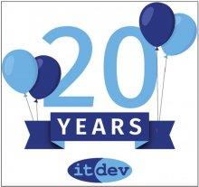 20th anniversary graphic